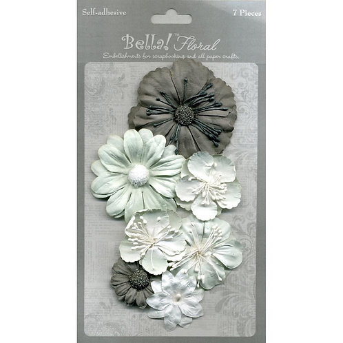 Bella Paper Florals 7pc