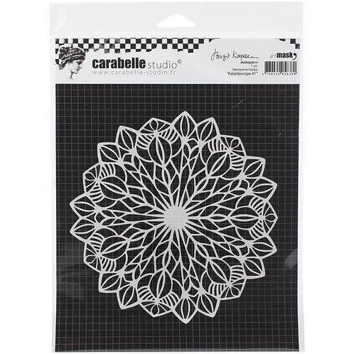 """Carabelle Studio Mask 6""""x 6"""" """"Kaleidoscope #1"""""""