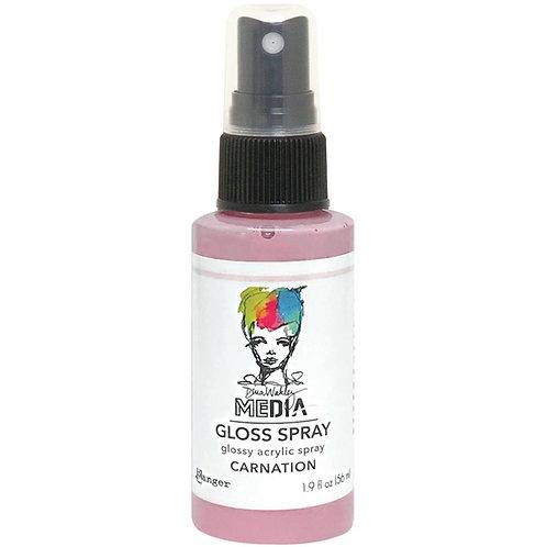 """Carnation"" Dina Wakley Media Gloss Spray"