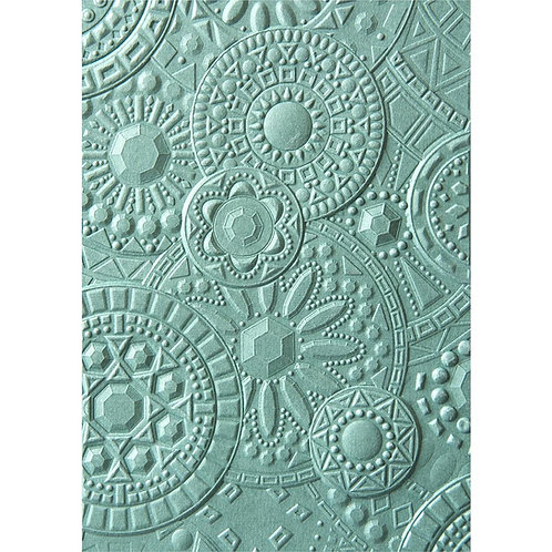 Sizzix 3D Texture Impressions Embossing Folder Mosaic Gems