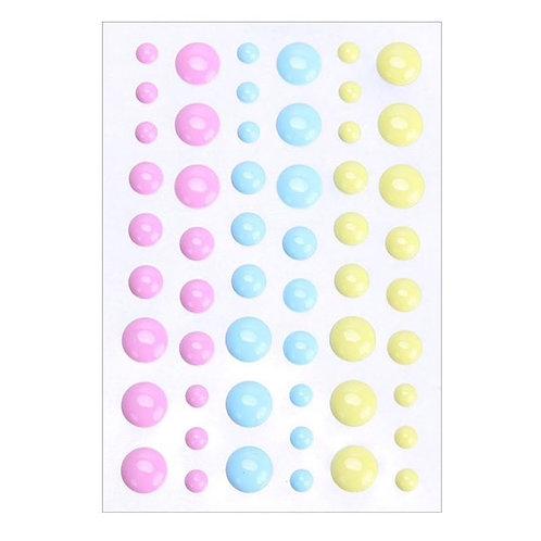 Enamel Dots -  54 pieces various sizes