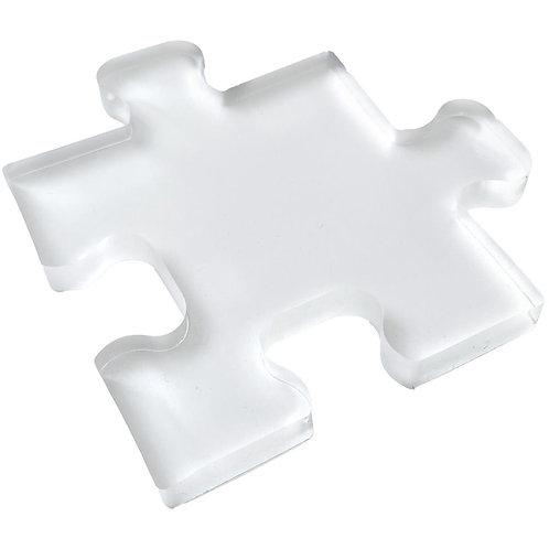 """4 1/2"""" Puzzle Piece Shape Press-PolyGel Gel Plate"""