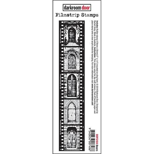 Doors - Darkroom Door Sentiment Rubber Stamp