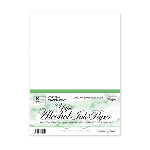 Yupo Paper - Translucent A4 - 120gsm (10 sheets per pack) Couture Creations