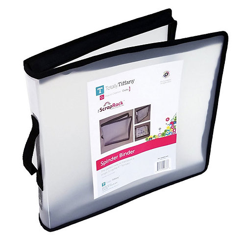 """12"""" x 12"""" Craft Supply Binder from Totally Tiffany"""