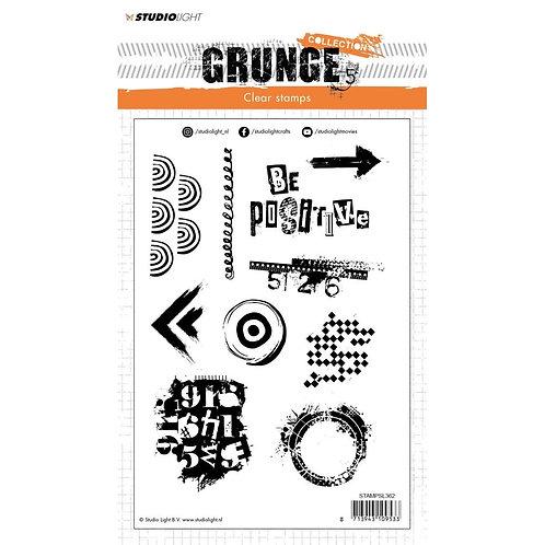 Studio Light Grunge Collection A5 Stamp