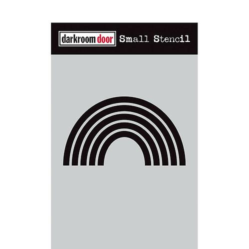 """Darkroom Door Stencil - """"Rainbow""""   4.5"""" x 6"""""""