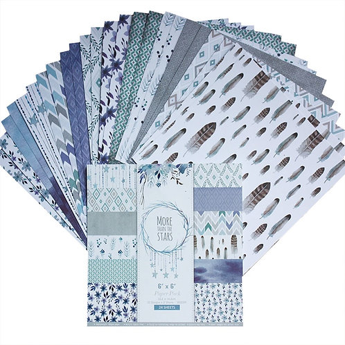"""6x6 inch """"More Than The Stars"""" Design Paper Pack"""