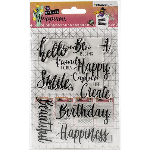 Studio Light Clear Cling Stamps