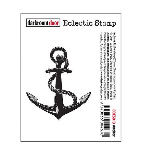 Anchor -Darkroom Door Eclectic Rubber Stamp