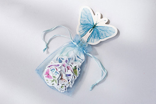Bag of Small Butterfly Sticker - 60 pcs