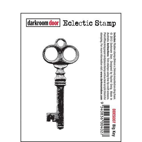 Big Key -Darkroom Door Eclectic Rubber Stamp
