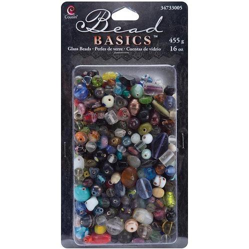Jewelry Basics Glass Beads 16oz