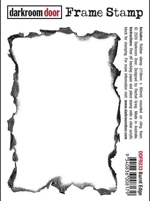 """Darkroom Door Frame Stamp - """"Burnt Edge"""""""