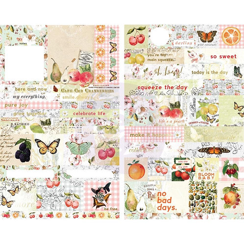 copy of Prima Marketing Fruit Paradise Cardstock Ephemera 44/Pkg