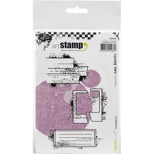 "Carabelle Studio Cling Stamp A6 ""Les Basics #2"""