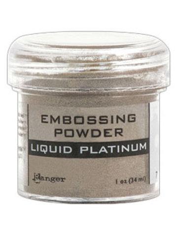 """Ranger Embossing Powder - """"Liquid Platinum"""""""