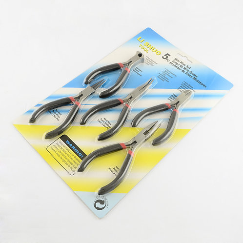 5Pc Jewellery Plier Tool Set