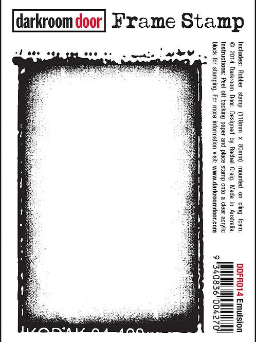 "Darkroom Door Frame Stamp - ""Emulsion"""