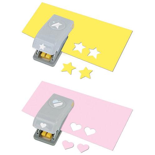 "EK Success Punch ""Heart & Star"" Set"