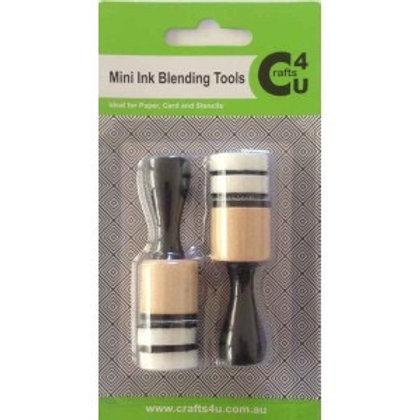 Mini Round Foam Inking Tool  2 Pack
