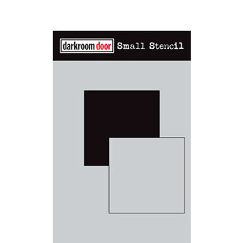 "Darkroom Door Stencil - ""Square Set""   4.5"" x 6"""