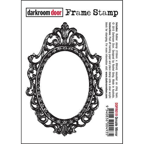 "Darkroom Door Frame Stamp - ""Ornate Mirror"""