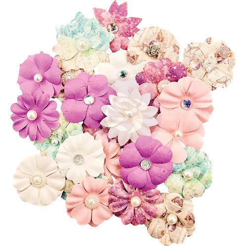Prima Marketing  Paper Flowers 24 Pieces