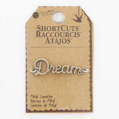 """Antique Brass Focal """"Dream"""""""