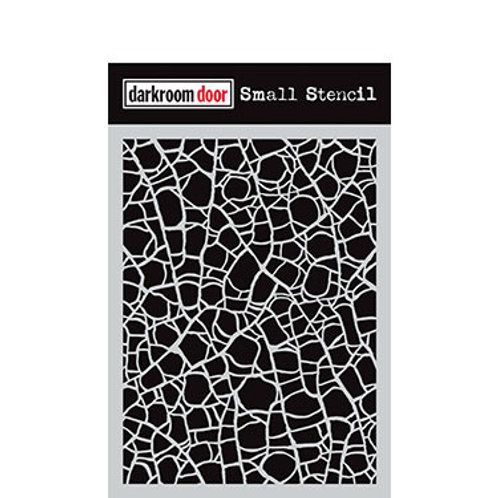"Darkroom Door Stencil - ""Crackle""   4.5"" x 6"""