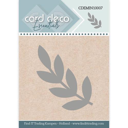 """Card Deco Leaf Cutting Die  2X1"""""""