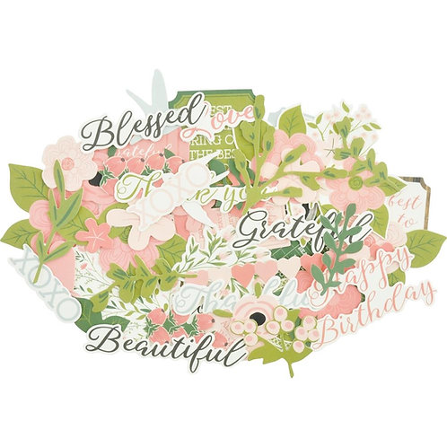 """Kaisercraft Die Cut Shapes - Collectables """"Full Bloom"""""""