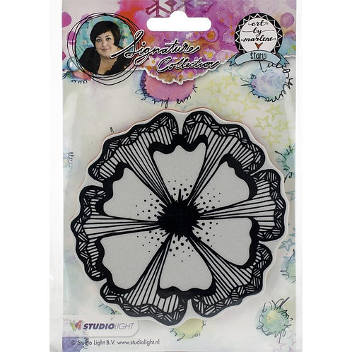 By Marlene Flowers Cling Stamp
