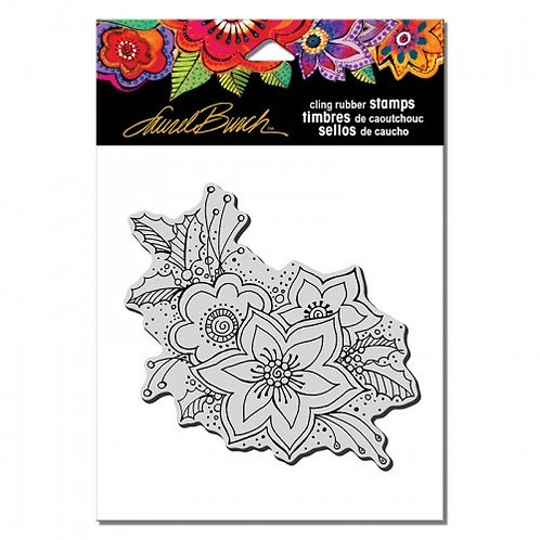 Festive Flora Stampendous Cling Mount Rubber Stamps