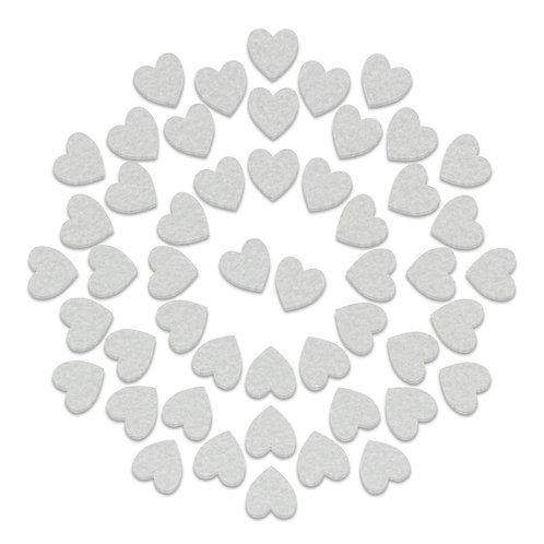 Alcohol Ink Applicator Delux Heart felt pad refills 50pcs