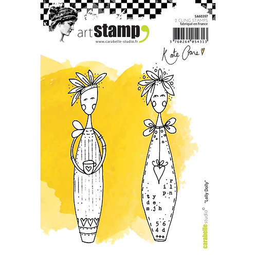 """Carabelle Studio Cling Stamp A6 """"Lolly Dolly"""" by Kate Crane"""