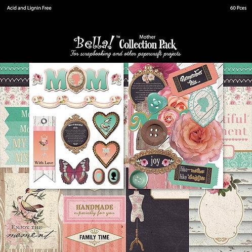Bella Embellishment Collection Pack 12 x 12 64pcs