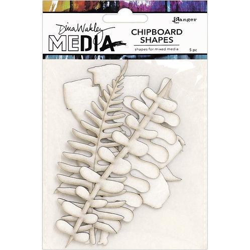 Dina Wakley Media Chipboard Shapes