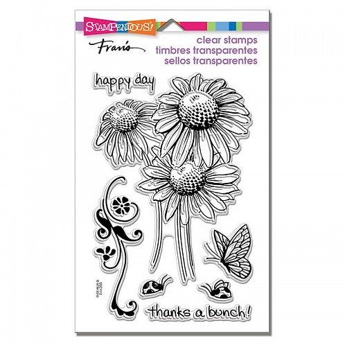 "Daisy Stampendous Clear Stamps by Laurel Birch 4""x6"""