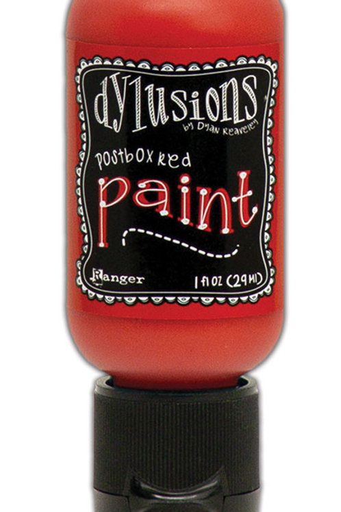 """Dylusions Paint Flip Cap """"PostBox Red"""""""