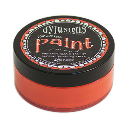 """Dylusions Blendable Acrylic Paint 2oz - """"Postbox Red"""""""