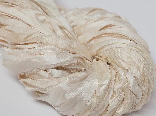 10M Sari Silk Natural  (10 Meters)