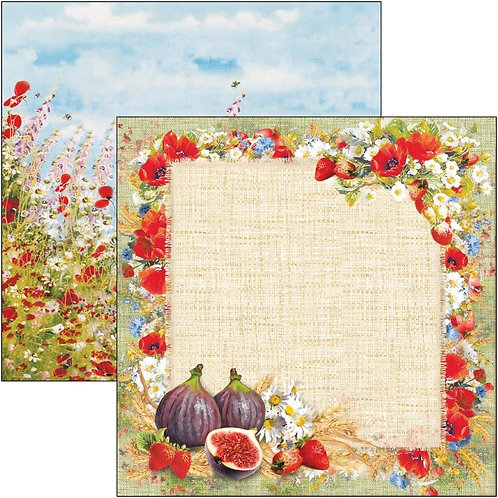 """Ciao bella  Double-Sided Cardstock 12""""X12"""" Sweet Countryside"""