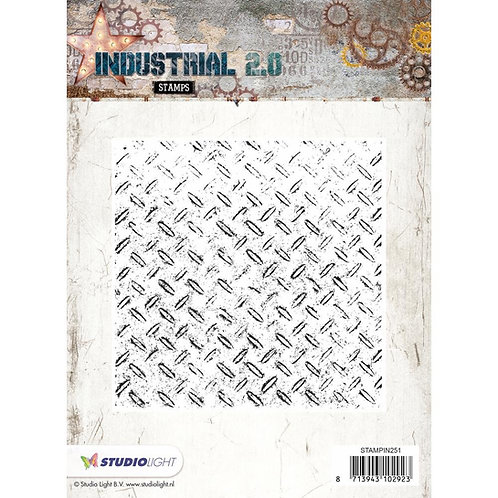 "Studio Light Industrial 2.0 5.5""X5.5"" Background Stamps"