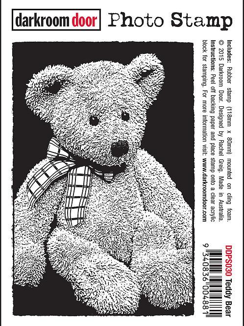 """Darkroom Door - """"Teddy Bear"""" Photo Rubber Stamp"""
