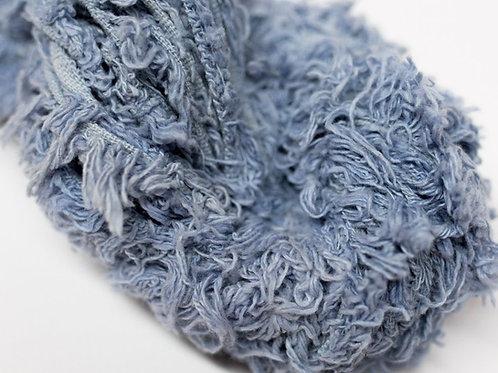 5M Cotton Fritz Powder Blue Ribbon (5 Meters)