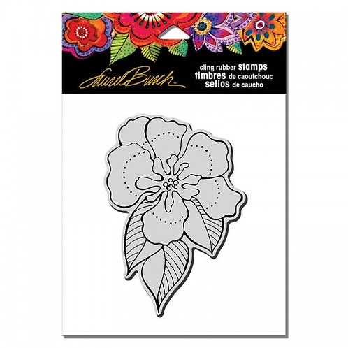 Flora Flower Stampendous Cling Mount Rubber Stamps