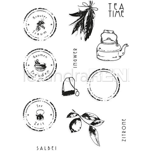 Alexandra Renke Cooking Clear Stamps