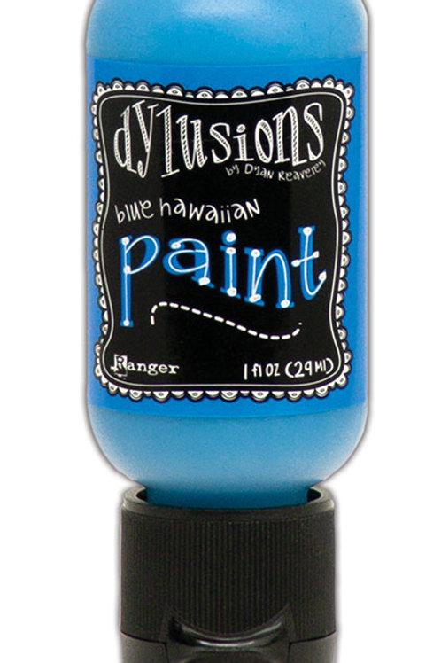 "Dylusions Paint Flip Cap ""Blue Hawaiian"""