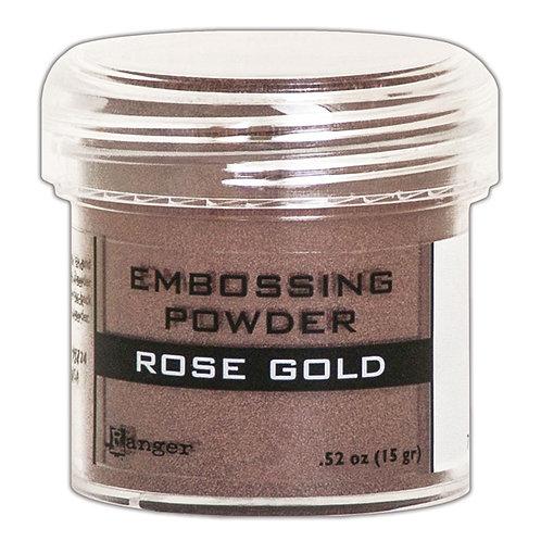 "Ranger Embossing Powder - ""Rose Gold"""